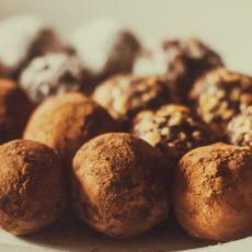 Truffes au chocolat à l'huile essentielle d'Orange Douce – comme un air de fêtes !