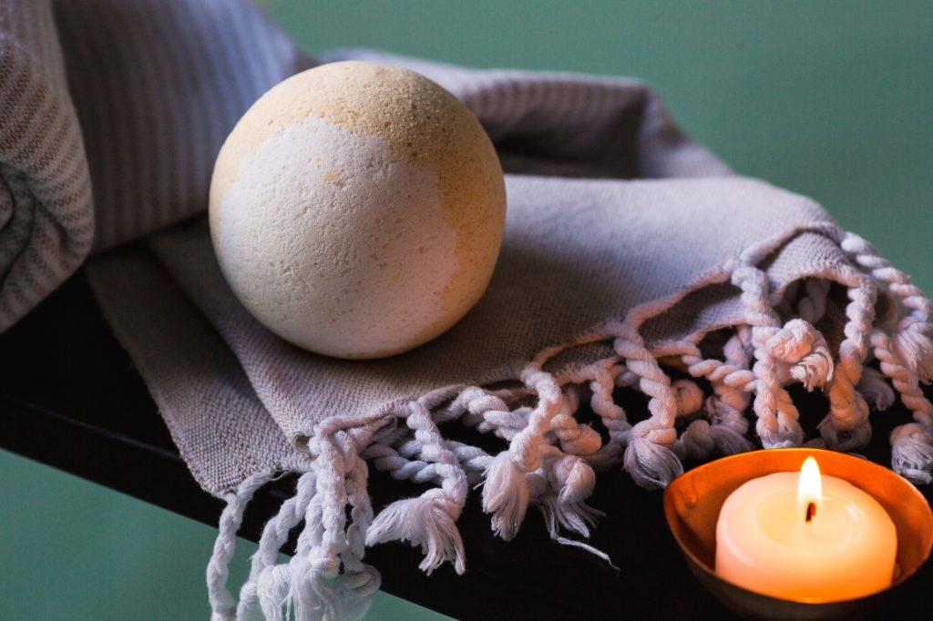 Fabriquez votre boule de bain naturelle