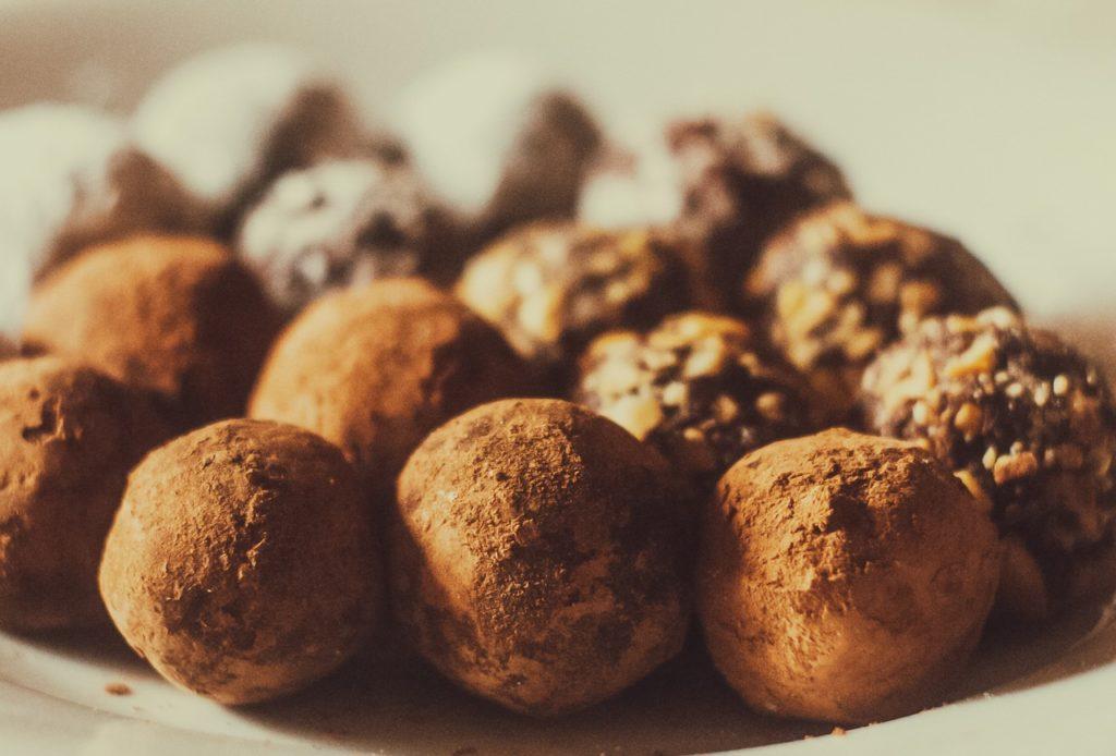 Recette de truffes chocolat et huile essentielle