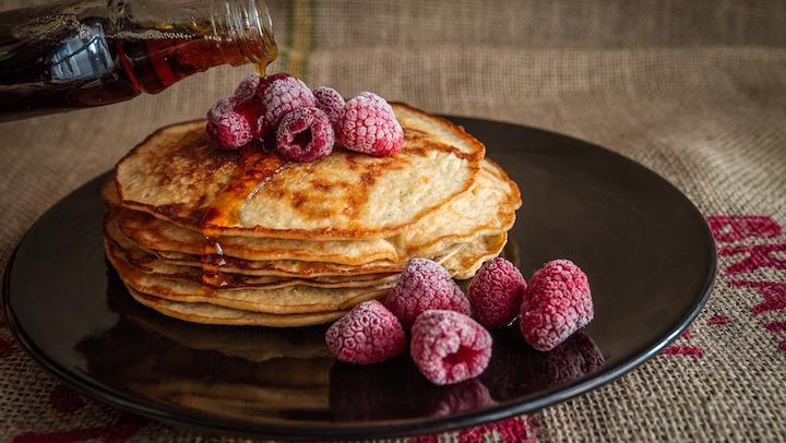 pancakes vegan recette