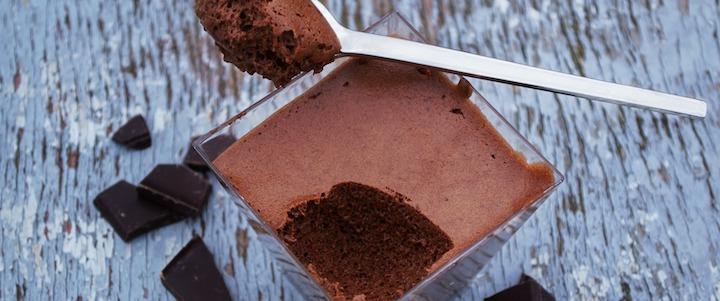 Mousse chocolat facile à l'huile essentielle de Menthe Poivrée - réveillez vos papilles !