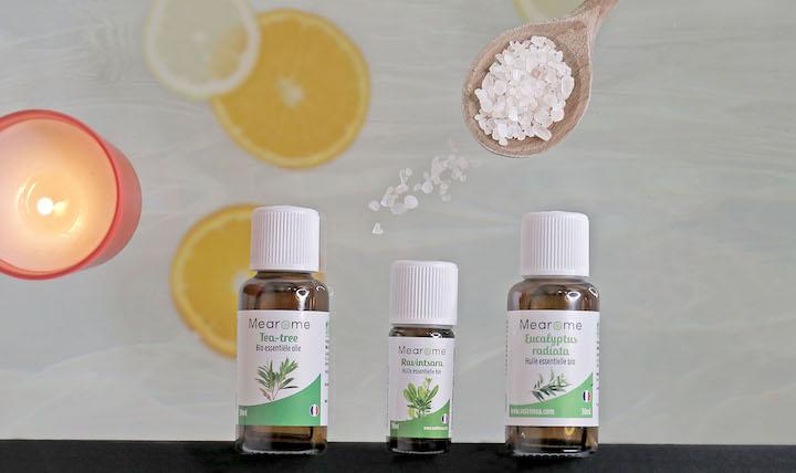 Bain immunostimulant aux huiles essentielles