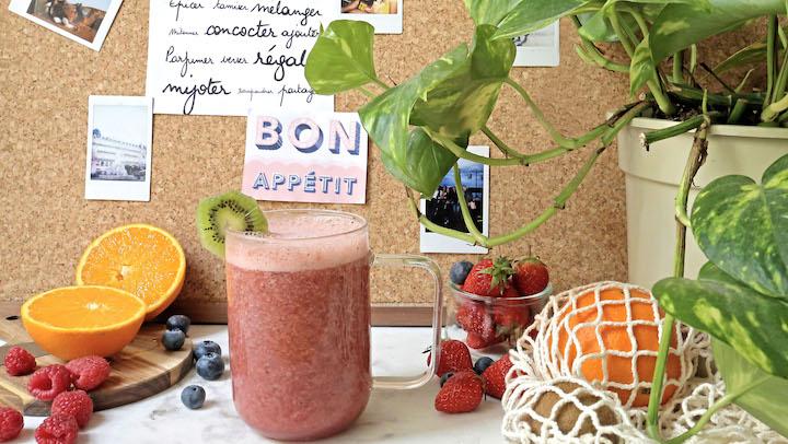 Renforcer son immunité avec un smoothie multivitaminés