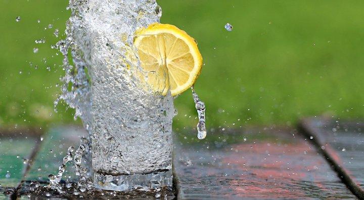 L'eau pour se debarrasser de la cellulite