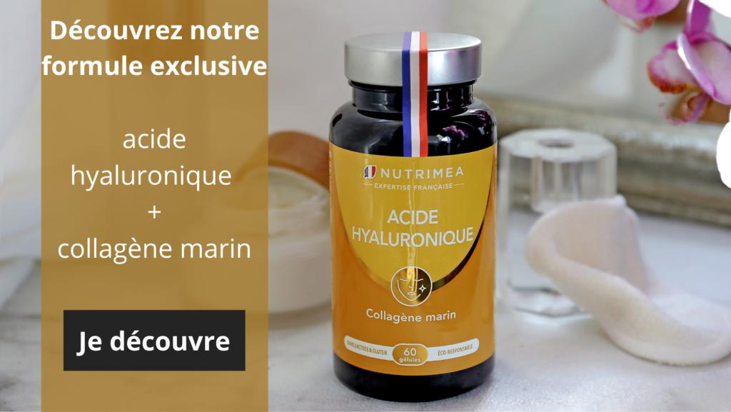 Acide hyaluronique et collagène marin - cure 1 mois